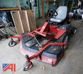 "Groundsmaster 345 72"" Ride On Mower"