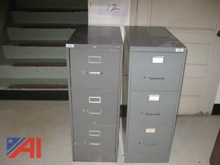 3-Drawer Filing Cabinets