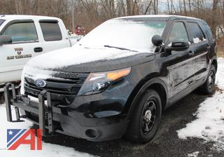 (#301) 2015 Ford Explorer SUV/Emergency Vehicle