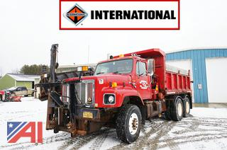 1997 International 2674 Dump Truck and Wing