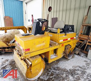 Dynapac LR100 Vibratory Smooth Double Drum Roller