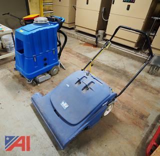 Windsor Vacuum Cleaner & Avenger Carpet Extractor
