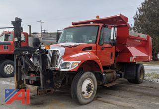 2005 International 7400 Dump w/Plow Frame
