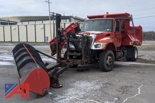 2005 International 7400 Dump Truck with Plow and Wing