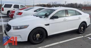 2014 Ford Taurus Police Interceptor Sedan