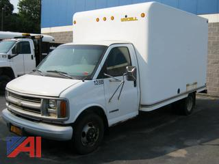 1999 Chevy G30 Box Truck