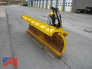 10' Fisher Snow Minute Mount Snowplow