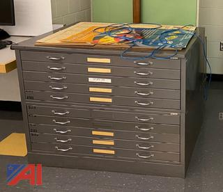 10 Drawer Drawing Cabinet