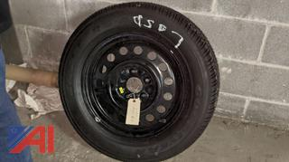 "16"" Tire on Rim"