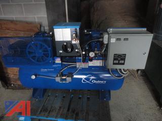 Quincey Dual Air Compressor