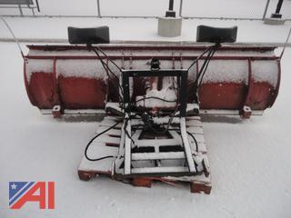 8' Western Steel Snow Plow