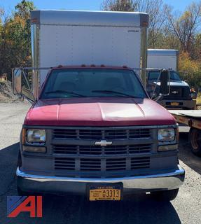 (M-30) 2001 Chevy Silverado 3500 Box Truck