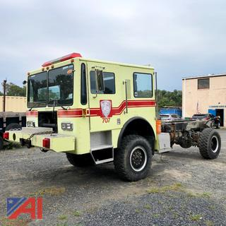 1990 Kovatch KFT-12 P-24 Cab and Chassis