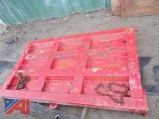 Dump Truck Tail Gate
