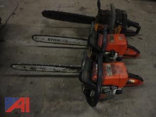 Stihl 025 & Poulan Chain Saws