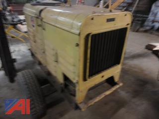 10,000 W Willis Military Type Trailered Onan Generator