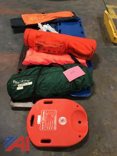 First Aid Back Boards, Splints & Sked