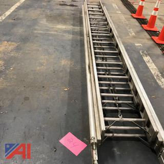 40' 3-Section Aluminum Ladder