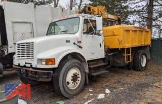 2002 International 4700 Dump Truck with Crane