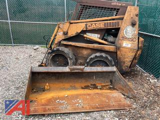 1992 Case 1845C Skid Steer Loader