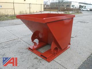 2 Yard Dump Hopper, New