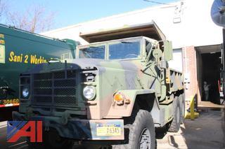 2010 AM General 6 x 6 Dump Truck