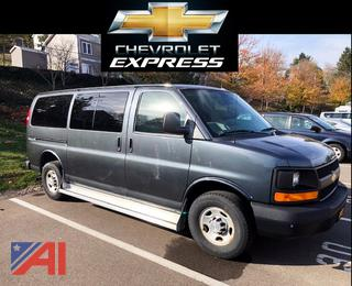 2015 Chevy Express 3500 12 Passenger Van