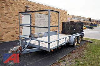 1985 Texas 16' Utility Trailer with Ramp