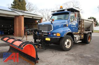 2007 Sterling L8500 Dump Truck with Plow