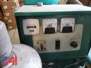 Onan 30KW Natural Gas Generator with Kohler Automatic Transfer Switch