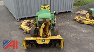 *Lot Updated* John Deere 335 Mower/Tractor & Attachments