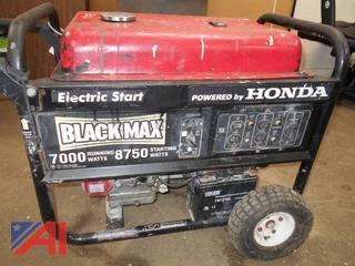 Honda Black Max 7000 Running Watts Generator