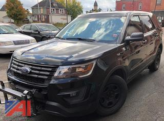 2017 Ford Explorer SUV/Police Interceptor