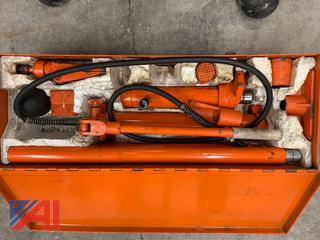 (#1) ATD-5810 10 Ton Portable Hydraulic Ram System