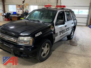 2008 Chevy Trailblazer LT1 SUV/Police Vehicle