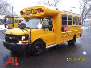 2008 Chevy Express 3500 Mini School Bus