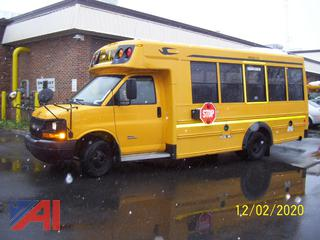 2010 Chevy Express 4500 Mini School Bus