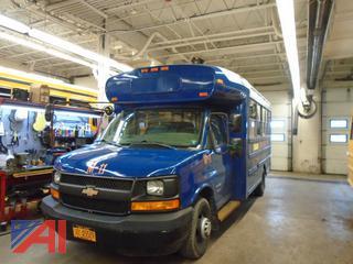 2007 Blue Bird/Chevy Express 3500 Mini School Bus