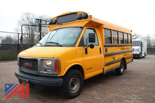 2001 GMC Savana G3500 Mini School Bus