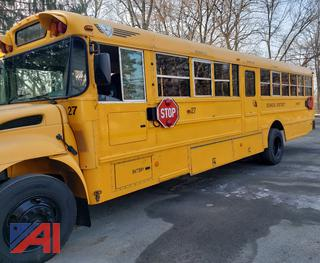 (#27) 2005 International PB105 School Bus with Wheelchair Lift