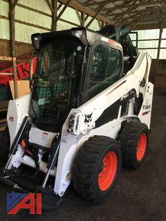 2015 Bobcat S570 Skid Steer with Bucket Attachment