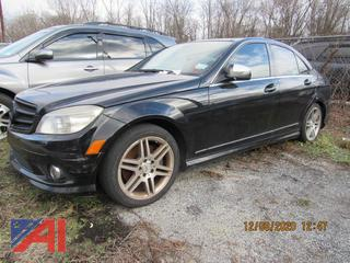 2008 Mercedes-Benz C350 4 Door Sedan