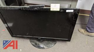 LG Flat Screen TV with Remote