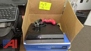 PlayStation 4 with Controller