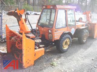1984 Holder C500 Sidewalk Tractor with Snow Blower