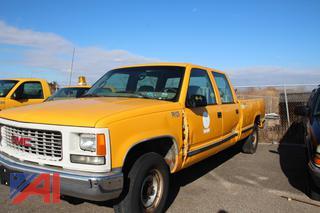 1997 GMC C/K 3500 Crew Cab Pickup Truck