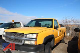 2003 Chevy Silverado 2500HD Pickup Truck