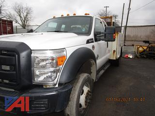 2013 Ford F450 Super Duty Utility Truck with Crane