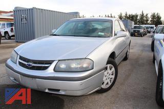 2002 Chevy Impala 4DSD