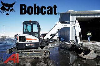 2015 Bobcat E42 Compact Excavator